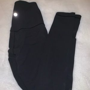 Lululemon align pants in black